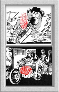 スロットルワイヤー(野性の七人)/2気筒エンジン(緑の墓)